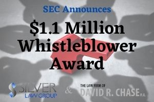 "The Securities and Exchange Commission (SEC) announced that it has awarded over $1.1 million to a whistleblower whose ""independent analysis led the staff to look at new conduct during an ongoing investigation.""  Analysts, researchers and individuals who conduct their own independent analysis of publicly available information and identify violations of the securities laws may submit SEC whistleblower claims despite not having any inside or private information not generally available to the public. Many times, it takes a unique perspective to look at all the pieces of the puzzle to demonstrate that a company is violating the federal securities laws or someone is operating a Ponzi scheme. Our lawyers work with these unique whisteblowers to help make sure that the analysis is maximized to get the SEC's attention. We then work with the whistleblower and the SEC to make sure the claim is properly reviewed.    A November 13, 2020 press release said the ""whistleblower's information and exemplary assistance helped the agency bring an emergency action preventing further investor harm. This whistleblower examined publicly available materials and conducted an analysis that revealed important new insights into the securities law violations, which helped the SEC protect investor assets from dissipation by the wrongdoer."""