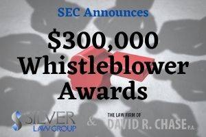 "On December 14, 2020, the Securities and Exchange Commission (SEC) announced that it was awarding $300,000 to one whistleblower ""whose high-quality information and continuing assistance significantly contributed to a successful enforcement action.""  According to the press release, the whistleblower had ""audit-related responsibilities"" when they became aware of potential securities laws violations.  Individuals who audit or have compliance responsibilities usually are not eligible for whistleblower awards, but there are exceptions, such as when a whistleblower ""reasonably believes that an entity is engaging in conduct that would impede the investigation"".  Jane Norberg, the SEC's Chief of the Office of the Whistleblower said ""This award is an example of the important role that audit and compliance professionals can play in assisting the Commission's enforcement efforts, especially when the entity is attempting to thwart an investigation. The whistleblower attempted to remedy the conduct and provided exceptional assistance to the enforcement staff."""