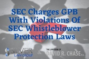 "The Securities and Exchange Commission (SEC) alleges that GPB Capital Holdings violated whistleblower protection laws by retaliating against a whistleblower and preventing people from going to the SEC with information.  The government accuses the alternative asset management firm of being a ""Ponzi-like scheme"". Three people have been criminally charged, including the CEO of GPB Capital, David Gentile, and Jeffrey Schneider, the owner of GPB's placement agent Ascendant Capital.  GPB is alleged to have lied about the source of 8% APR distribution payments made to investors. The SEC's complaint, filed in U.S. District Court Eastern District of New York, alleges that the defendants and Ascendant told investors that their payments were coming solely from GPB's profits, but that some of the money came from other investors, which is a Ponzi scheme."