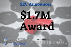"The US Securities & Exchange Commission (SEC) recently awarded $1.7 million to two whistleblowers who provided critical information within 30 days via Form TCR (Tip, Complaint or Referral). Both provided their information in accordance with the new Securities and Exchange Act Rule 21F-9(e).  The first award saw a whistleblower receive $900,000 after providing information on a fraudulent scheme that recurrently defrauded investors. The provided evidence allowed the SEC to further a continuing investigation that ultimately led to a shutdown of operations. The whistleblower offered a significant amount of evidence that included an essential declaration.  The second whistleblower offered critical evidence of ""false and misleading statements made to investors."" The individual produced documents as well as participated in interviews during the investigation. As a result, defrauded investors saw millions in returns, and the SEC awarded this individual $800,000."