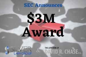 """The SEC has awarded two individuals more than $3M related to two agency separate enforcement actions.  In the first, the agency awarded $3.2M to one individual who alerted the SEC to certain violations. The individual also gave the SEC crucial subject matter expertise, which conserved agency resources, as well as which identifying important issues on which to focus.  The SEC awarded second individual $100,000 for """"significant information and ongoing assistance"""" in the detection of an ongoing investor fraud, then put a stop to it.  A whistleblower is an individual that reports a person and/or organization engaged in illegal and illicit activity. It can be anyone working in an organization, or someone affiliated, such as a customer or vendor. Anyone with evidence of fraud or other wrongdoing can be a whistleblower. The SEC primarily handles cases related to securities and other financial fraud.  Since beginning its Whistleblower program in 2012, the SEC has awarded more than $816M to 153 individuals who have provided critical information to the agency. The awards are funded by the SEC's investor protection fund created by Congress and funded by financial sanctions from those who violate SEC laws. None of the funds are from the investors themselves."""
