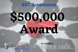"""A whistleblower who filed an internal report prior submitting a tip to the SEC has been awarded $500,000 by the agency. The information provided by the whistleblower gave the SEC and another agency what they needed to file actions quickly in order to stop a continuing fraudulent scheme.  The individual first submitted an internal report that led to an internal investigation. The company provided this information to an external agency, which notified the SEC.  Additionally, the individual contacted the SEC separately within 120 days of filing the internal report. The SEC's """"safe harbor"""" provision means that if the report is made within the 120-day timeframe, the agency treats it as if the report was made the same day.  Exchange Act Rule 21F-4(b)(7) provides in relevant part that:"""