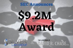 The Securities & Exchange Commission (SEC) announced its latest award of $9.2 million to a helpful whistleblower who offered assistance at their own expense.  This individual traveled to be personally interviewed by the US Department of Justice, and paid for their travel out-of-pocket. As a result, their information led to successful actions led to actions by the DOJ, including a non-prosecution agreement (NPA) or deferred prosecution agreement (DPA).  This whistleblower offered a significant amount of information related to a continuing fraud to the SEC. The information led to a substantial amount of money that could be returned to the defrauded investors. The SEC then provided the information to the DOJ for their investigation and actions.  Additionally, this same whistleblower received a previous award from the SEC resulting from the same information that led to a successful SEC action. The previous SEC award is a precursor to today's related action whistleblower award.