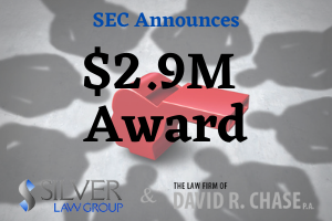"""The SEC's Office of the Whistleblower has awarded another bounty to someone who helped by offering information.  The individual involved provided original information that led to a successful enforcement action. The information provided by the individual assisted the SEC with both administrative and judicial actions, and were treated as a single """"Covered Action.""""  Emily Pasquinelli, Acting Chief of the SEC's Office of the Whistleblower, said that, """"The whistleblower alerted the SEC to previously unknown conduct and then provided substantial additional assistance, which conserved a considerable amount of SEC resources.""""  A second individual who submitted information was not awarded a bounty and did not seek reconsideration of the decision."""