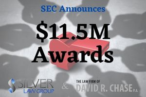"""The SEC continues awarding monies to whistleblowers who assist staff with information that either leads to a successful enforcement action or makes things easier for investigative staff.  Two whistleblowers have been awarded a combined bounty of $11.5 million. The first whistleblower received an award of nearly $7 million, and the second received $4.5 million for information and assistance in the case.  In the SEC's order, Secretary Vanessa Countryman stated that:  Both claimants had independently and voluntarily provided the SEC with credible and relevant information in regards to the company in question leading to a successful enforcement action The first claimant """"persistently"""" contacted the SEC with information for years before staff finally opened an investigation Claimant 1 was also the primary source of information for the investigation, offering information that would have been nearly impossible for staff to uncover otherwise This included the identification of witnesses and helping SEC staff understand the """"complex fact patterns"""" involved in the case The first individual """"made persistent efforts to remedy the issues, while suffering hardships"""" Claimant 2 also voluntarily offered information that was based on """"recent experience"""" and offered staff a """"better understanding"""" of the issues This whistleblower also offered considerable assistance to staff throughout the investigation and assisted SEC staff evidence requests and settlement negotiations However, Claimant 2 delayed reporting to the SEC for """"several years"""" after learning of the wrongdoing, which led to an appropriate reduction of the award  As always, all identifying information regarding the whistleblowers is kept confidential in compliance with the Dodd-Frank Act. The SEC has surpassed the $1B mark in awarding whistleblowers, which is not taken from recovered investor's monies."""